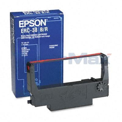 EPSON TM-U370 RIBBON BLACK AND RED 3M